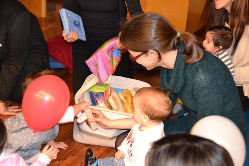Bebencontro na Bebeteca da Biblioteca Infantil e Xuvenil