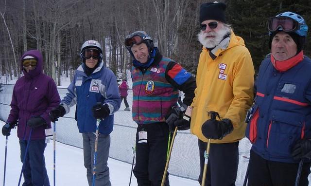 70+ Ski Club at Hunter