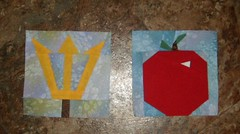 Princess  quilt blocks sm 2014 apple and trident 003