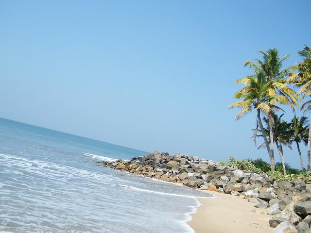 Thirumullavaram beach, Kerala