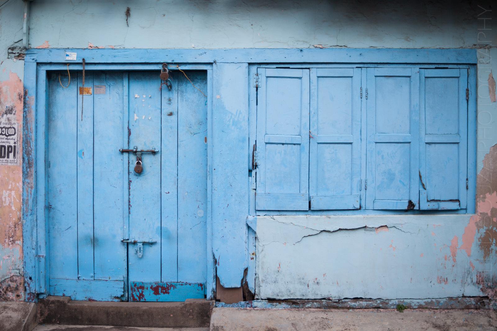 Blue door, Jew Town