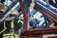 Wohnungs- & Dachstuhlbrand Hattersheim 08.02.14