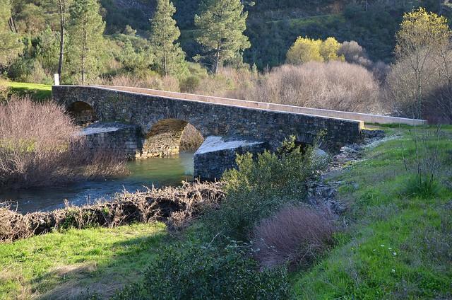 Roman Bridge, Ponte dos Três Concelhos, Portugal