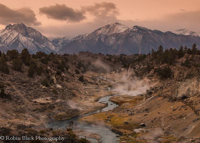 Autumn Sunrise, Hot Creek (Eastern Sierra)
