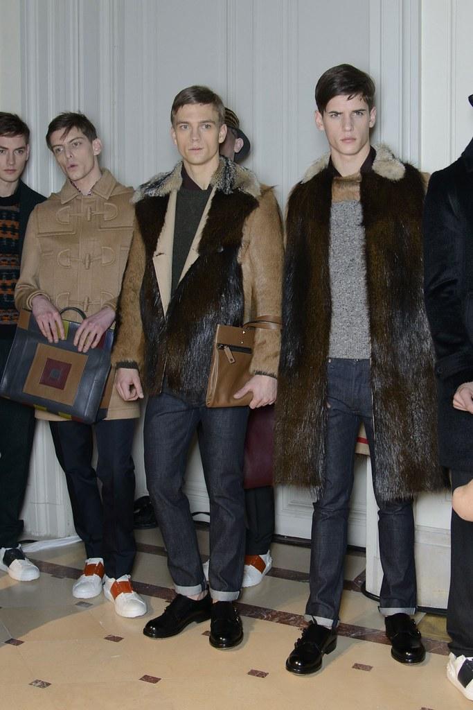 Jakob Hybholt4142_4_FW14 Paris Valentino_Roel Nabuurs, Benjamin Eidem, Nate Hill(fashionising.com)