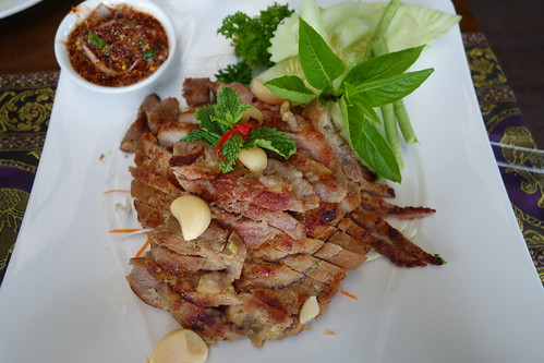 Grilled Pork with Garlic & Royal Thai Sauce