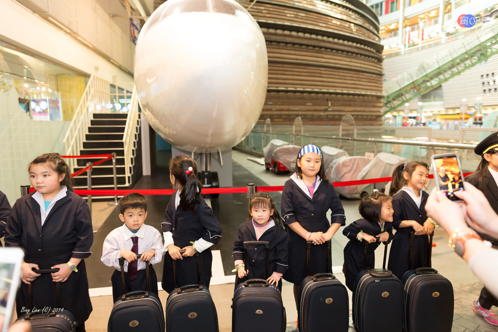 BabyBoss City (2) 航空公司當空姐