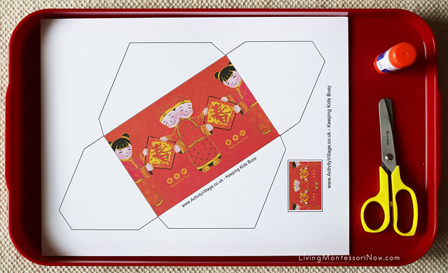 Lucky Money Envelope Craft for Chinese New Year