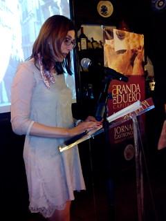 La alcaldesa de Aranda presenta las Jornadas del Lechazo.