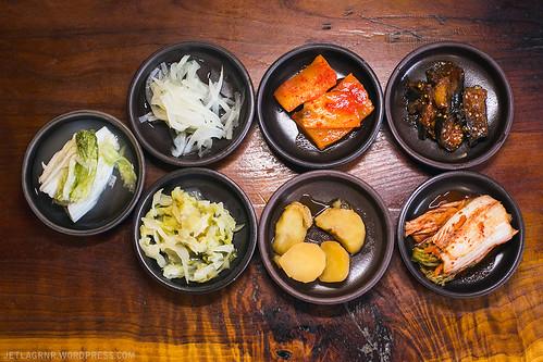 pyeongchang tofu house banchan1