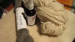 yarn and felt