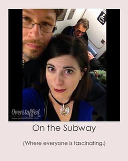 NYC Selfie Subway