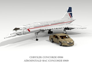 Aérospatiale-BAC Concorde (1969) and Chrysler Concorde (1998)