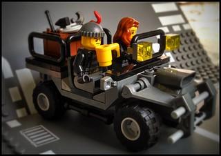Bank robbery Car concept 1