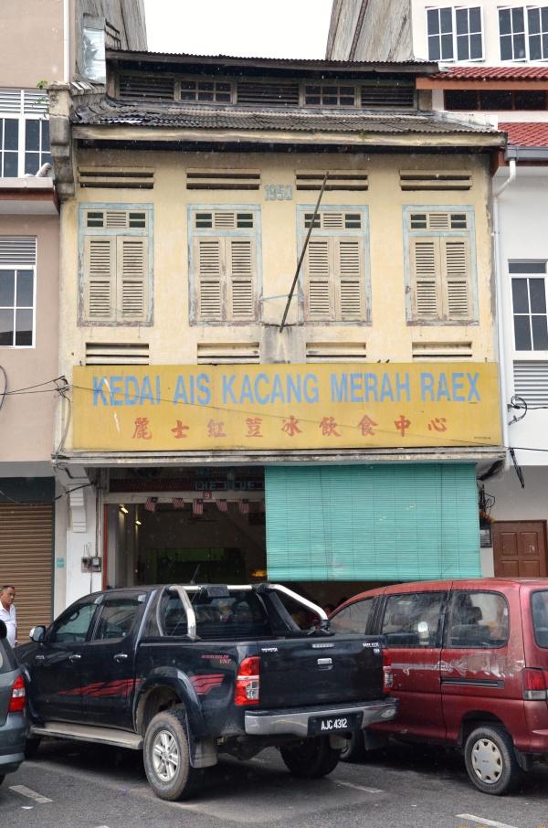 Kedai Ais Kacang Merah Raex Taiping