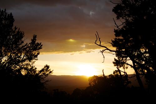sunset desertmountain