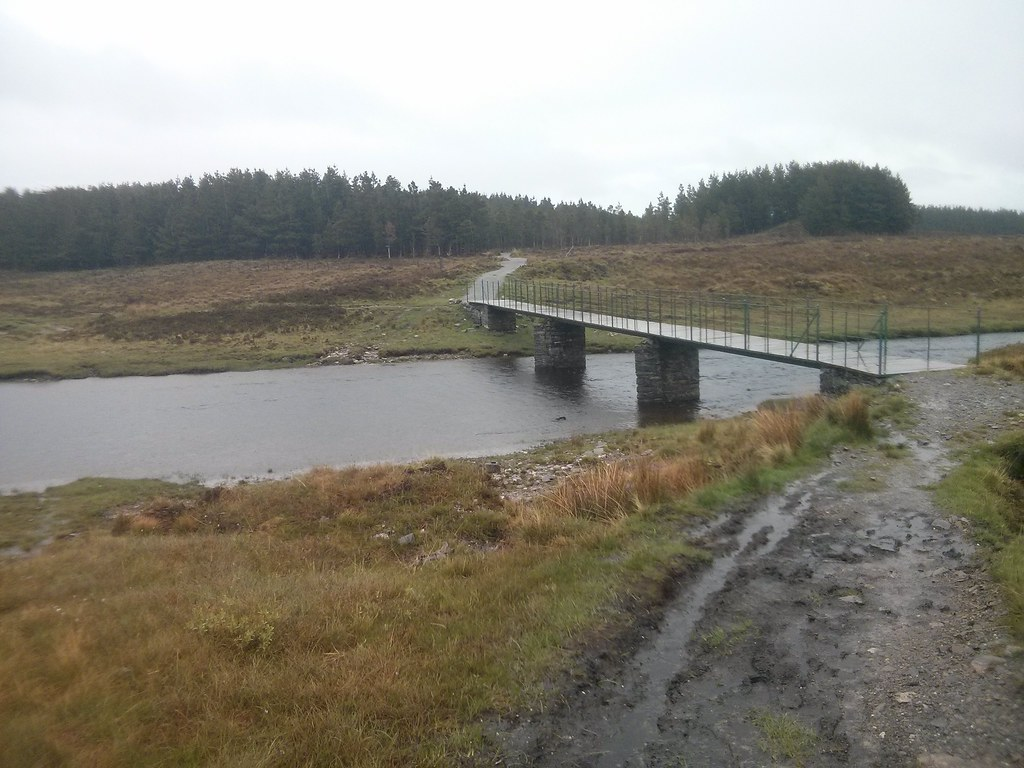 Bridge over the Abhainn Cuileig