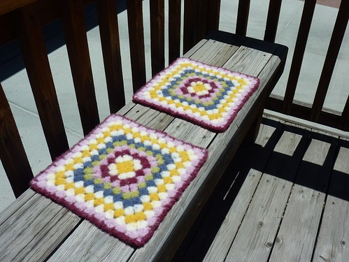Felted Chair Pads