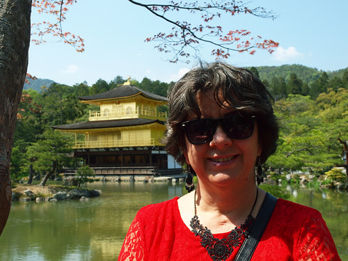 Mom and Kinkakuji