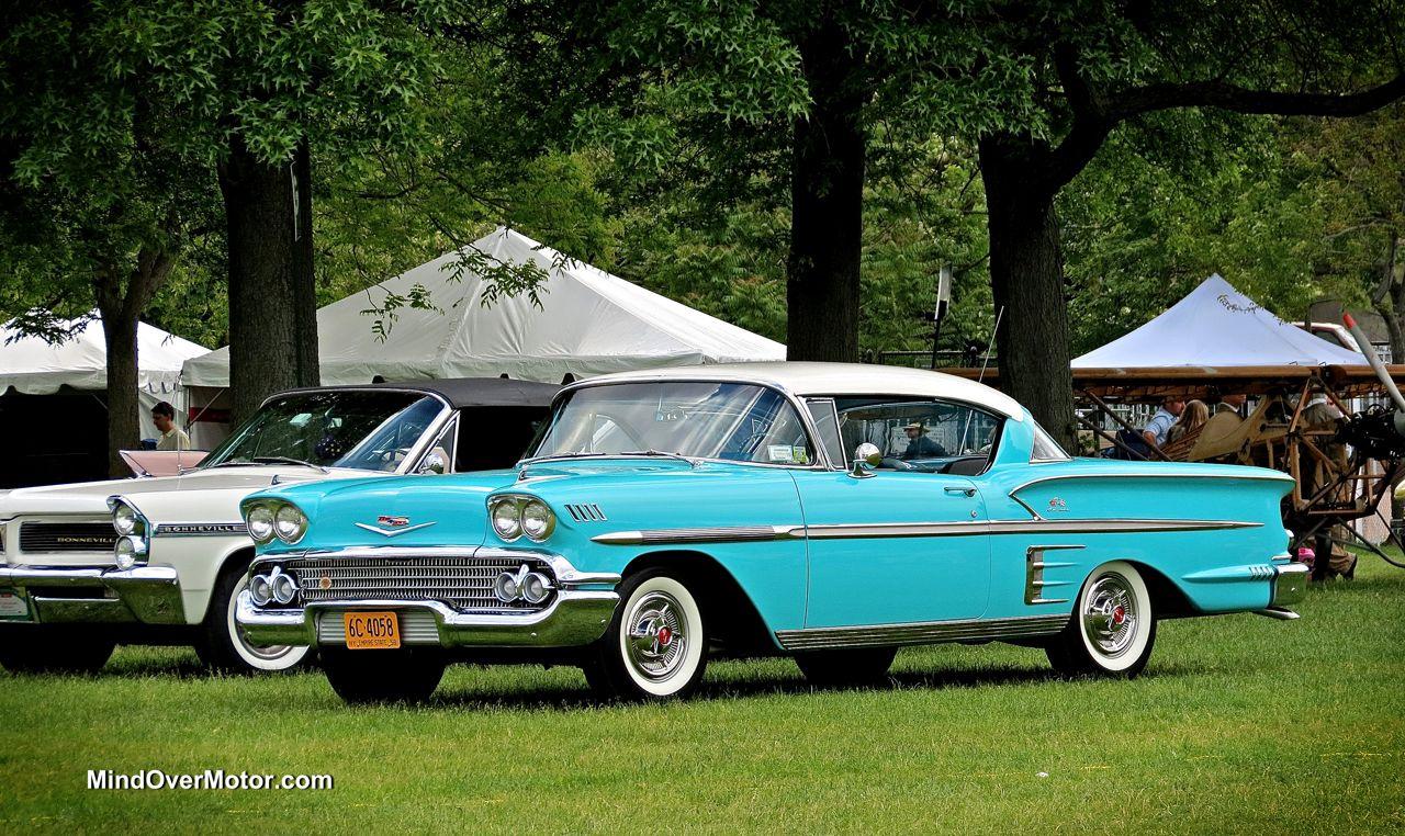 Turquoise 1958 Chevrolet Impala