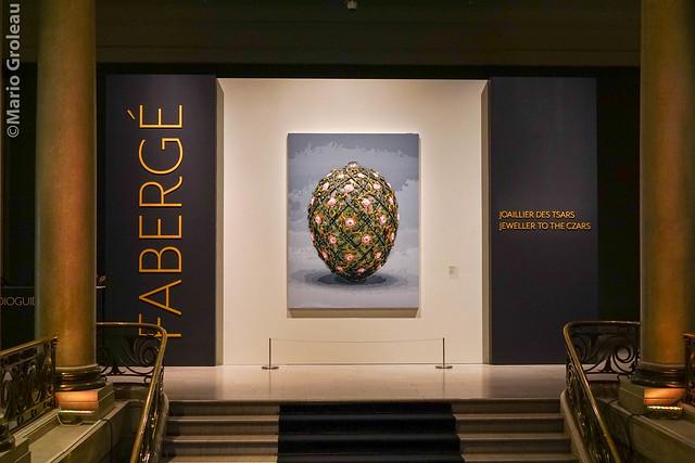 Exposition Fabergé au MBAM