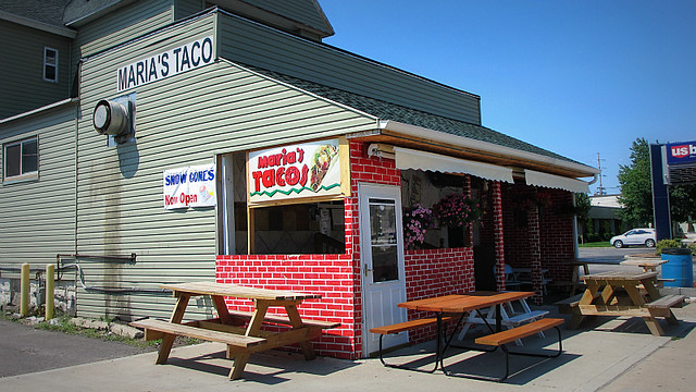 Marias Tacos in Marshalltown Iowa