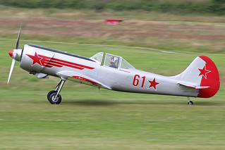 G-YAKM (61 Red)