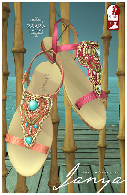 Zaara for Summer fest '14 - Janya jeweled flats
