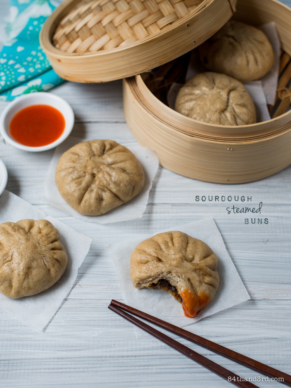 Sourdough Steamed Buns (Bao)