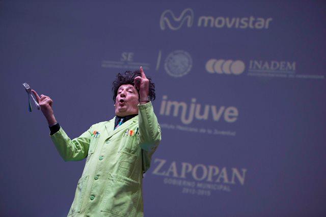Paul Zaloom-Beakman en Movistar Campus Party 2014
