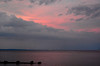 Sunset Drama Over Raritan Bay
