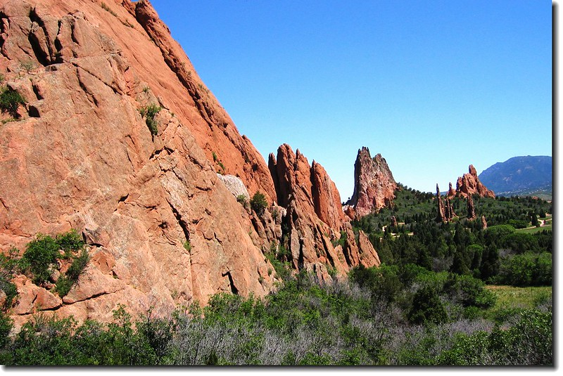 Panorama of the Garden of the Gods 5