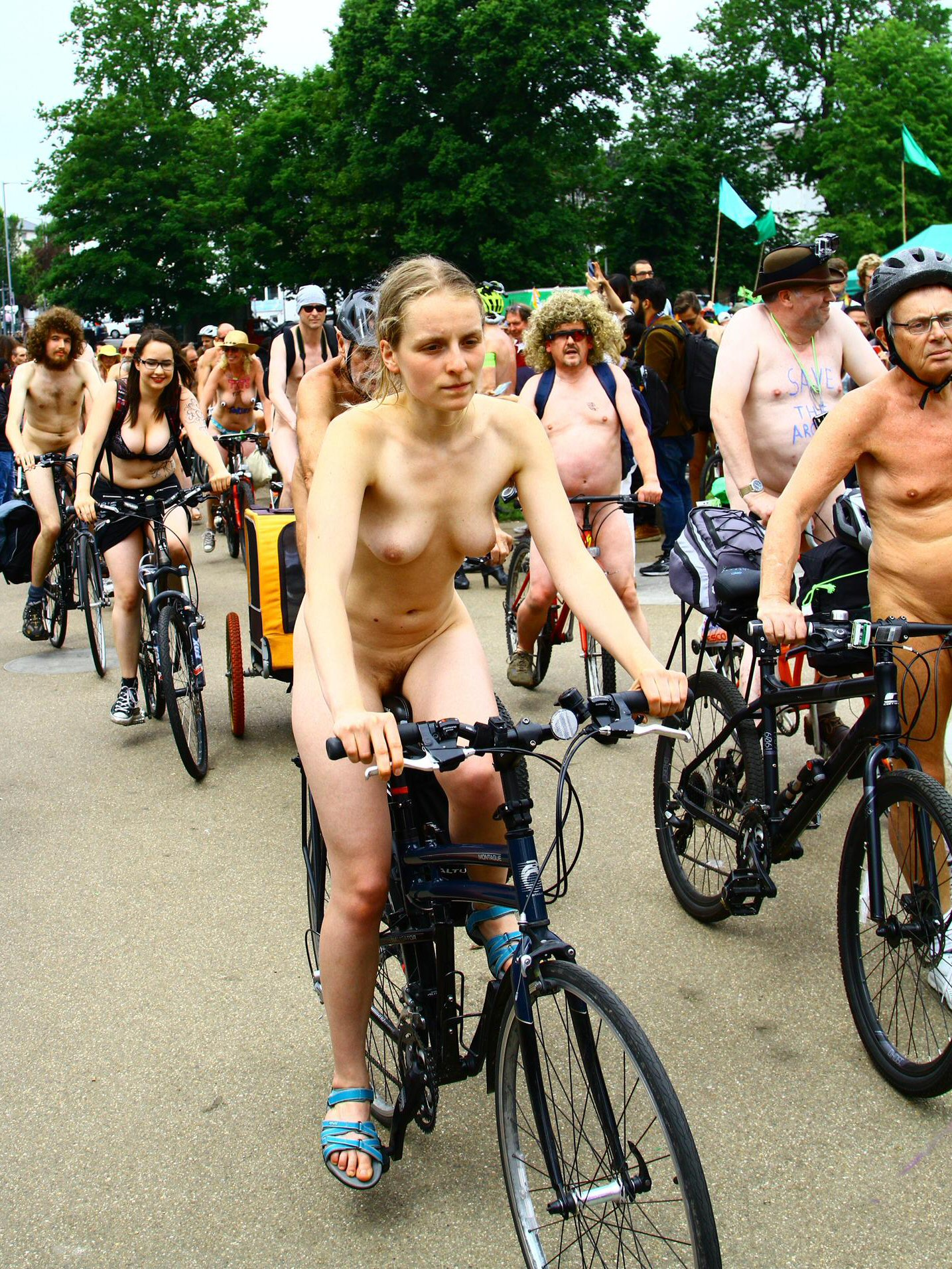 World Naked Bike Ride, Such An Attractive Beauty, - G11277084-1807
