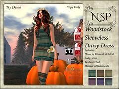 NSP Woodstock Daisy Tank Dress - V1