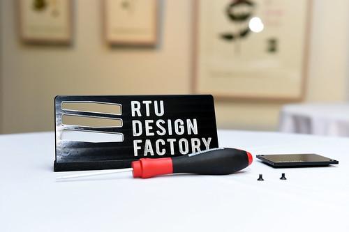 RTU Dizaina fabrikas atklāšana