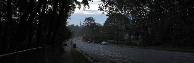 Prospect St hill, morning; Wakefield, MA (2016)