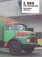 1977 M-B L 914 chassis cab