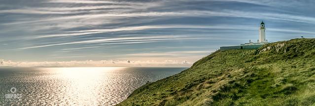 Mull of Galloway lighthouse panorama