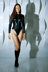 <span onclick=&quot;ImageToolBar('30506754373', 'studio', '');&quot;><img src=&quot;/files/pics/share-bright.png&quot; style=&quot;border:0;height:17px;&quot; /></span> Marusya Klimova in black catsuit and black high heels boots
