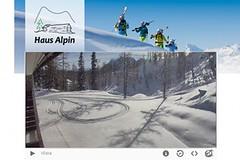 Tauplitz - první stopy v okolí Haus Alpinu!