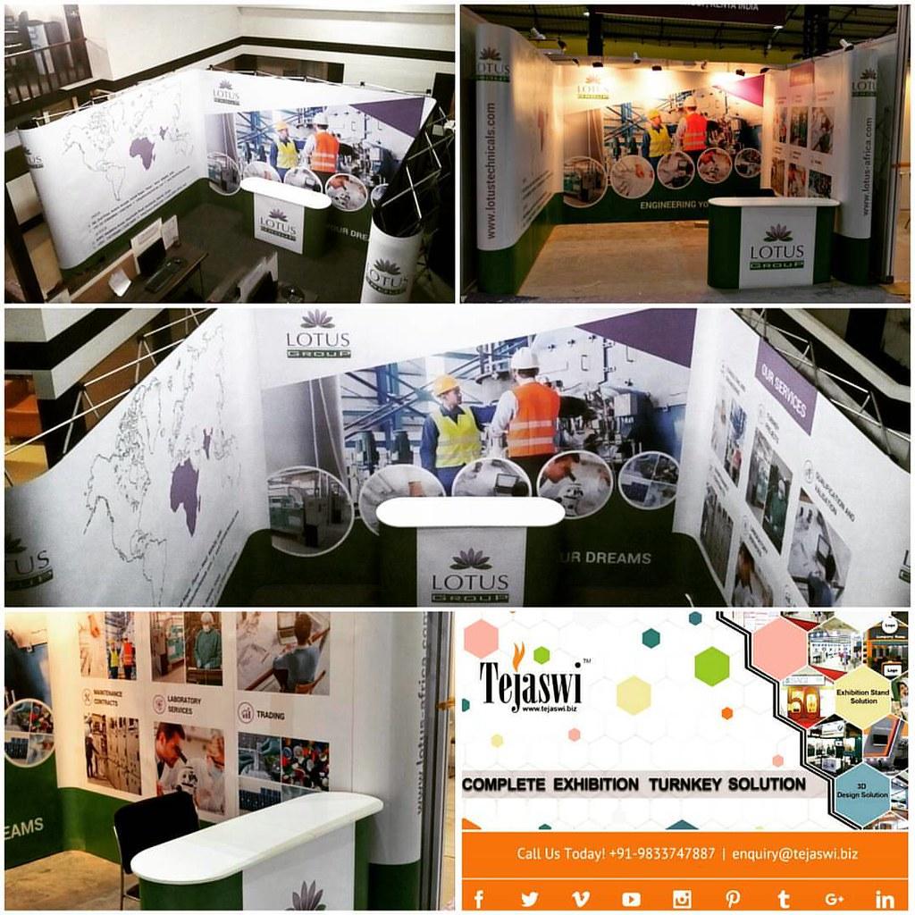 Corner Exhibition Stands Kit : Cphi cphiindia pmec setup portable exhibition kit one u flickr
