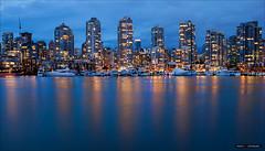 Blue Hour Vancouver