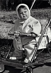 In My Stroller, Silver Spring, Maryland, 1963