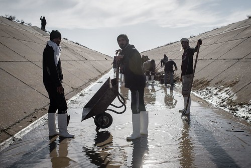 Restoring water supply - Iraq
