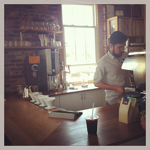 Serious hipster coffee comes to Portland, Maine