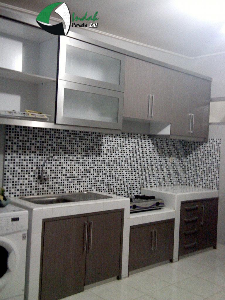 Gambar desain dapur lurus minimalis mso excel 101 for Kitchen set lurus