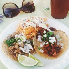 last one from yesterday: carnitas + al pastor #vscocam #vsco