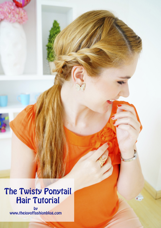 The Twisty Ponytail Hair Tutorial