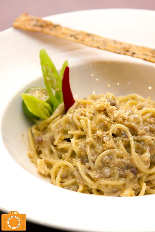 Mesclun Bistro Sisig Spaghetti