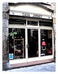 Foto de la entrada a Casa Jornet